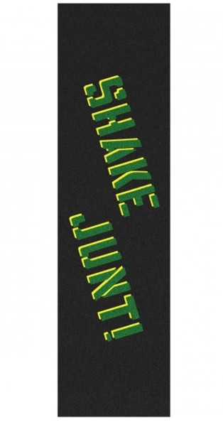 Shake Junt Sprayed Grip Tape Black Green Yellow 9x33