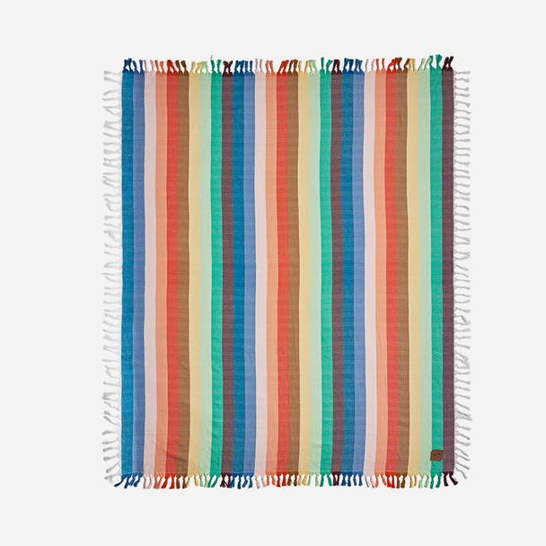 Slowtide Zeppelin Blanket Blue Stripe OneSize