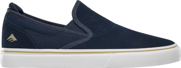 Emerica Wino G6 Slip-On Shoes Navy