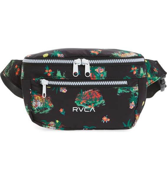RVCA Mel G Bum Bag Womens Black OneSize