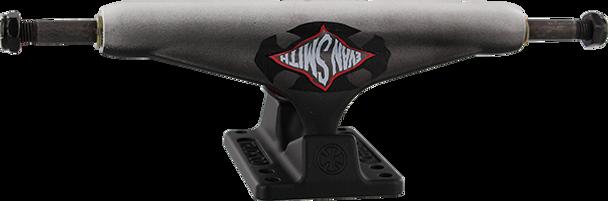 INDEPENDENT SMITH STD 159mm WARPED CROSS BLACK FADE TRUCKS SET