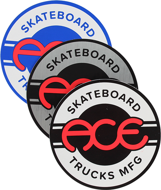 "ACE SEAL 4"" STICKER ASSORTED STICKER (2 pack)"