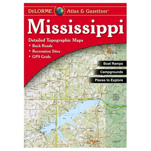 Delomore Mississippi Atlas White Onesize