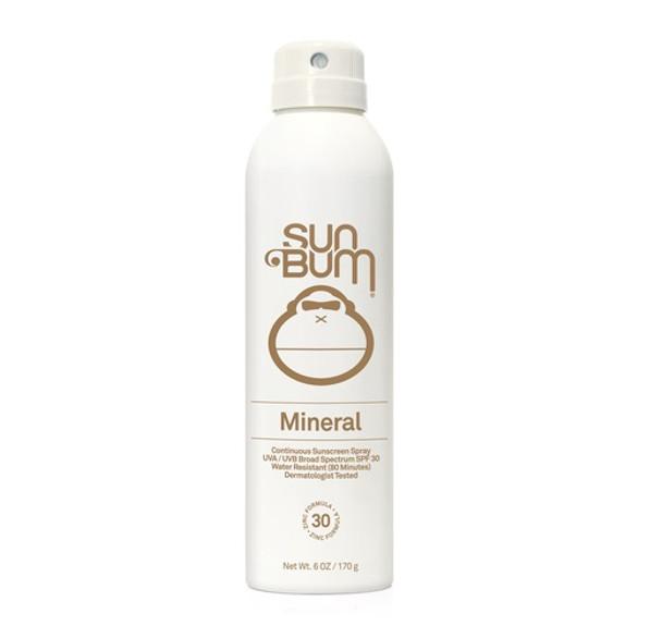 SunBum Mineral Spray SPF30 Clear 6oz