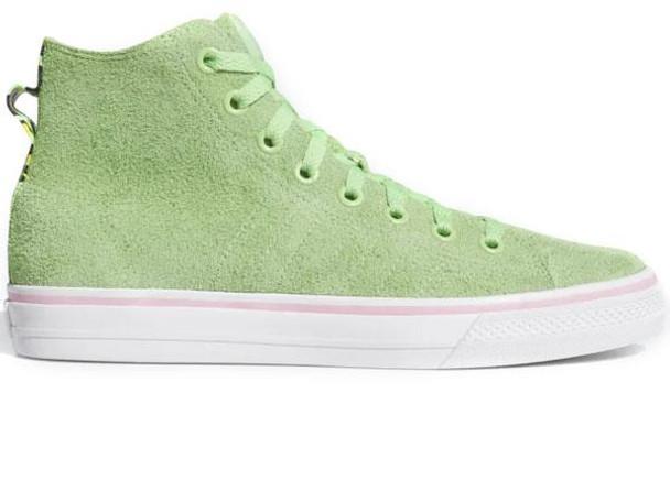 Adidas Nakel Nizza RFS Hi Shoes Spring Green