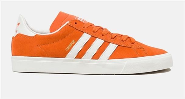 presenting low price limited guantity Adidas Campus Vulc II Adv Skate Shoes Tacora Orange White