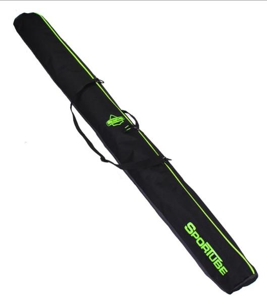 Sportube Wanderer Ski Bag Black Green 190cm