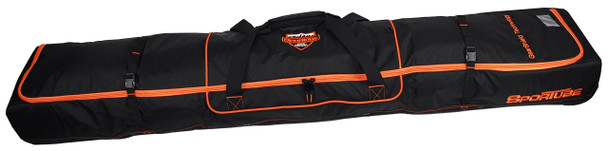 Sportube Ski Shield Double Bag Black Orange 190cm