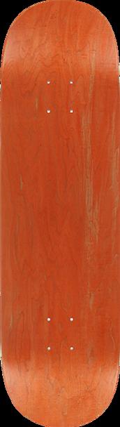 BLANK SKATE DECK-8.63 ASST.STAIN(PRIME) w/ MOB GRIP