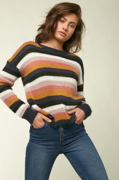 Oneill Daze Sweater Womens Multi