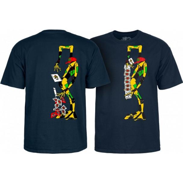 Powell Peralta Ray Barbee Rag Doll SS Tshirt Navy Medium