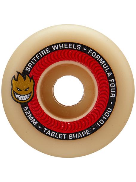 Spitfire F4 Tablets Skate Wheels Set Natural Red 51mm/101d