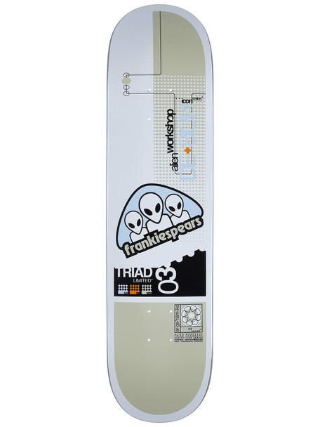 Alien Workshop Spears Triad Icon Skate Deck White 8