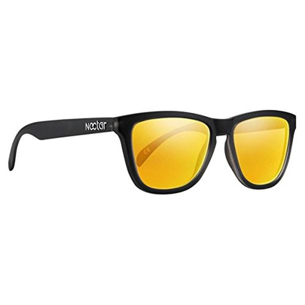 Nectar Crux Polar Sunglasses Black/OrgFrm Onesize