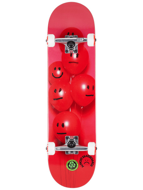 Almost Balloons Skateboard Complete Red 8.0 w/ MOB Grip