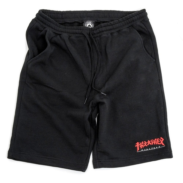 Thrasher Godzilla Shorts Black