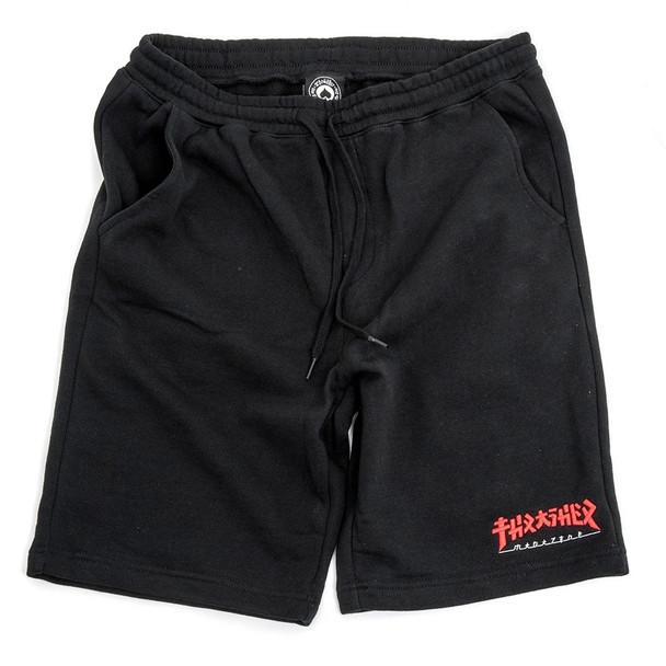 Thrasher Godzilla Shorts Black