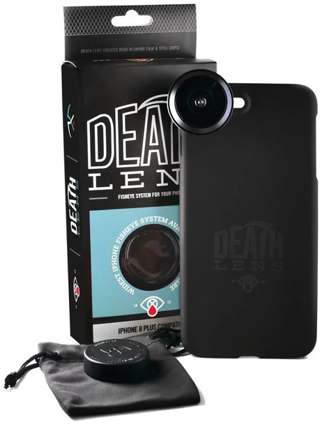 DeathLens Fisheye iPhone 8 Plus Black Onesize