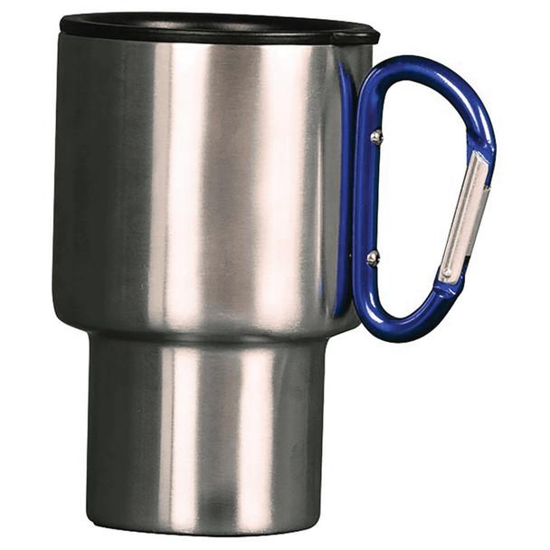 Aloe Gator Carabiner Travel Mug Stainless Blue 14oz