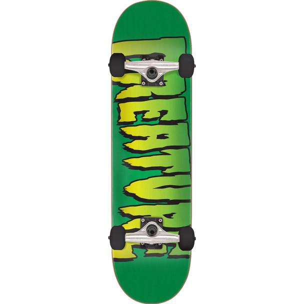 Creature Logo Skateboard Complete Green 8