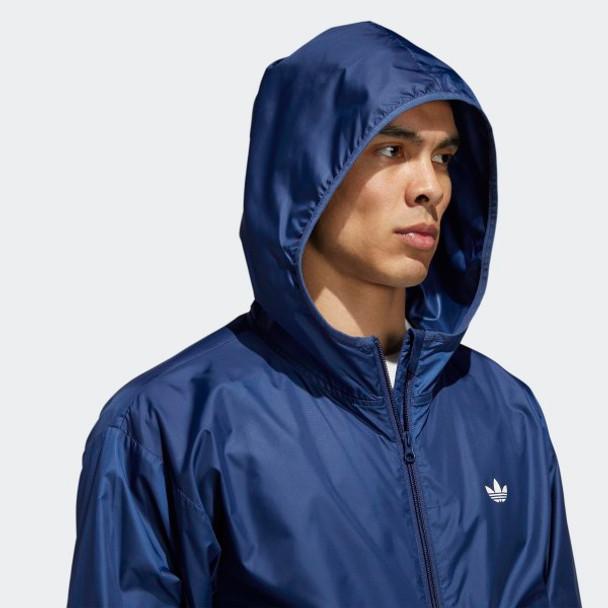 Adidas Lightweight Windbreaker Tech Indigo