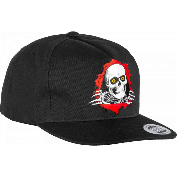 Powell Ripper Hat Black Snapback