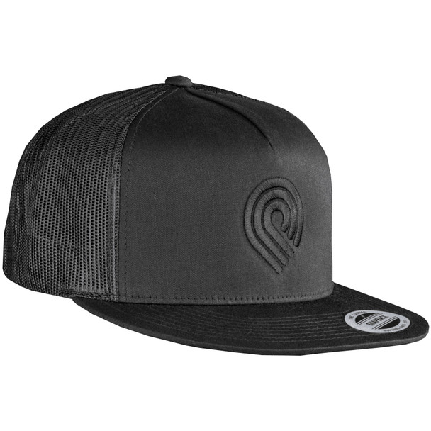 Powell Peralta Triple P Logo Hat Black Trucker Snapback