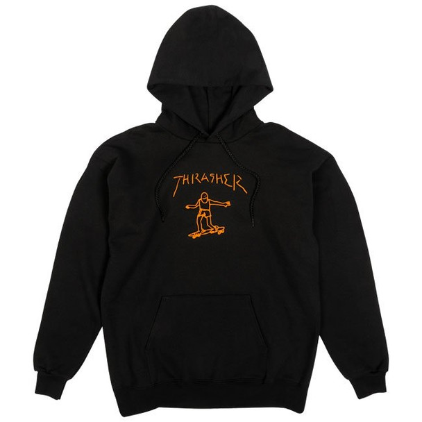 Thrasher Gonz Hoodie Black Orange