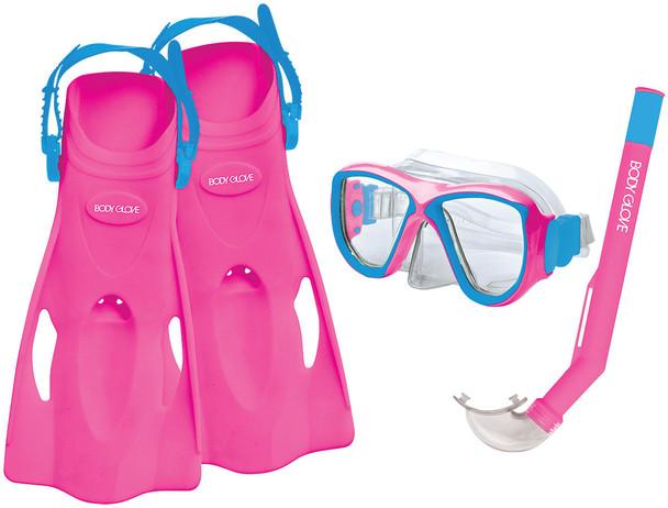 Body Glove Mischief Kid Set Pink Aqua Small
