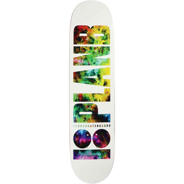 Plan B Duffy Team Skate Deck White 8.0 w/ MOB Grip