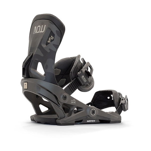 NOW Drive Snowboard Bindings 2021 Charcoal