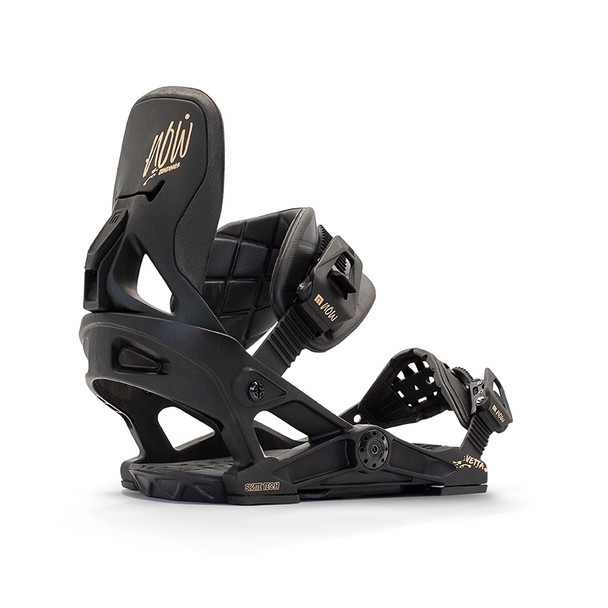 NOW Vetta Snowboard Bindings Womens 2021 Black Medium
