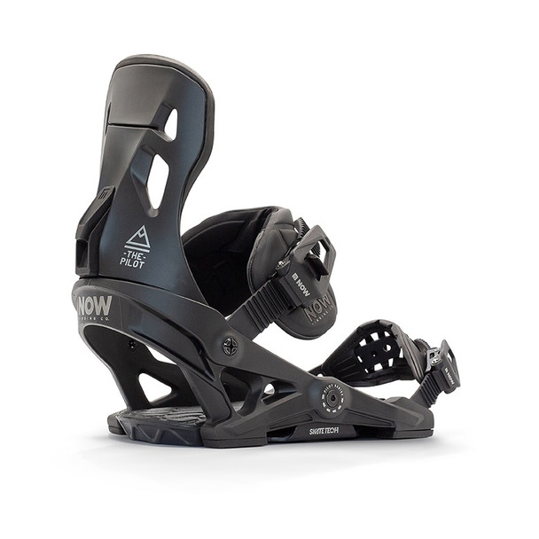 NOW Pilot Snowboard Bindings 2021 Black