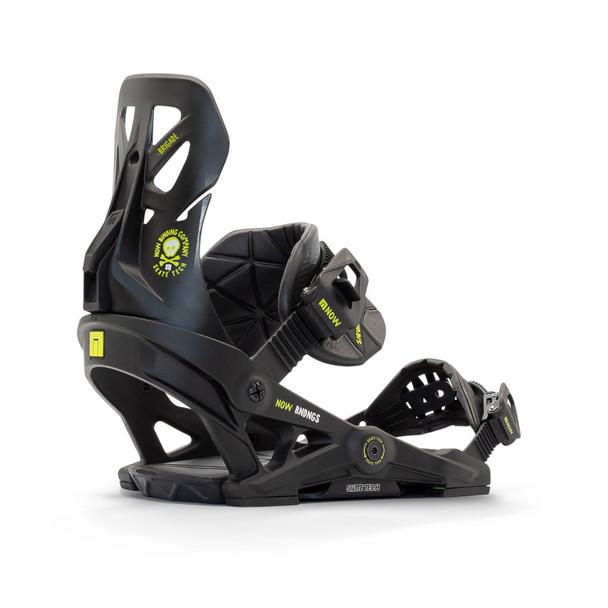 NOW Brigade Snowboard Bindings 2021 Black