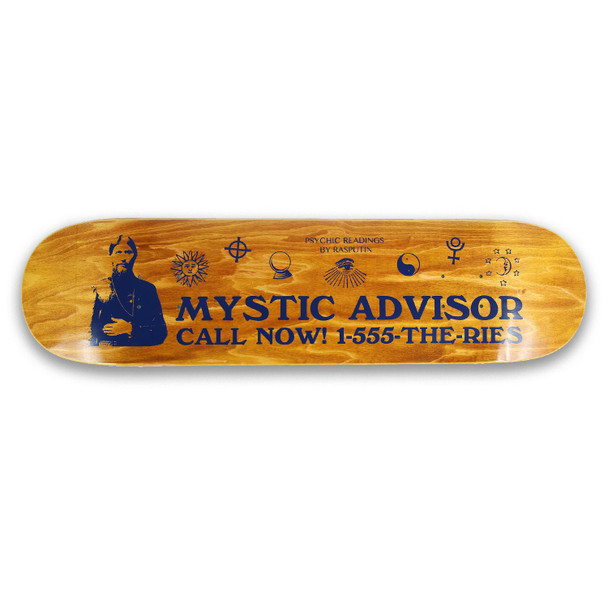 Theories Mystic Advisor Skate Deck Knock Out 8.38