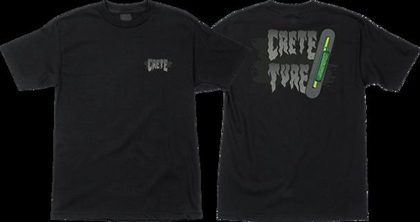 CREATURE CRETE TURE SS M-BLACK