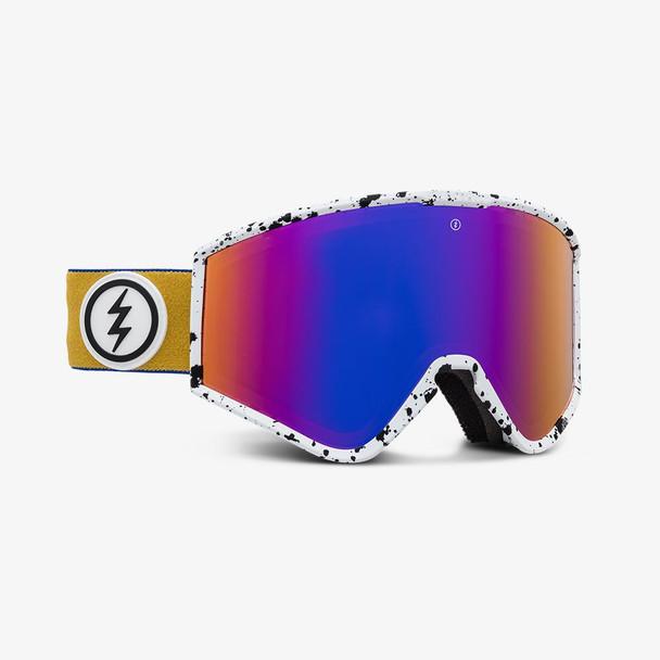Electric Kleveland Small Goggles Pump Bros Purple Chrome