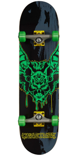 Creature Dweller Skateboard Complete Black 8