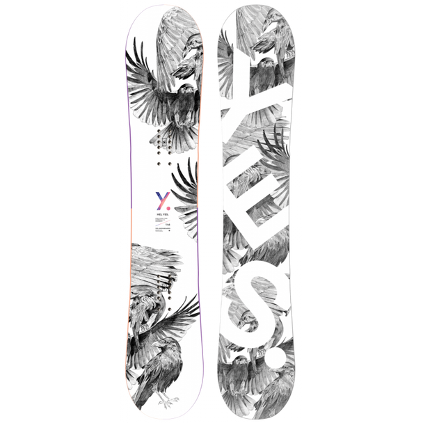 Yes Hel Yes 2021 Demo Snowboard White 152
