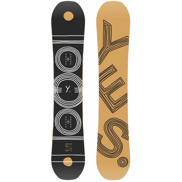 Yes Emoticon 2021 Demo Snowboard Black 146