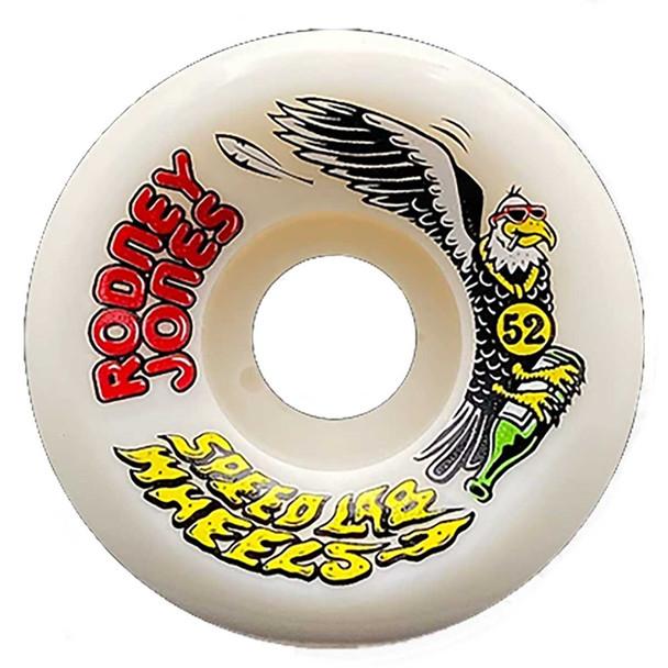 Speedlab Rodney Jones Wheels Set White 52mm 101a