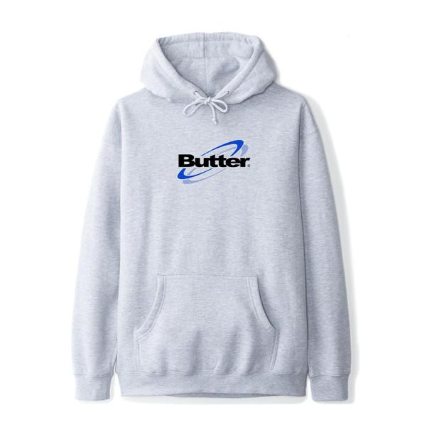 Butter Technology Logo Pullover Ashe Grey