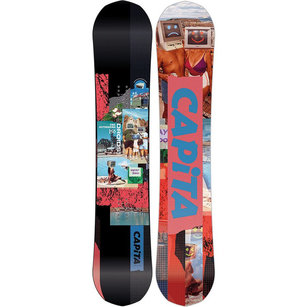 Capita Outsiders 2021 Snowboard Black 156