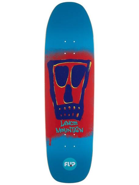 Flip Mountain Block Skate Deck Blue 9