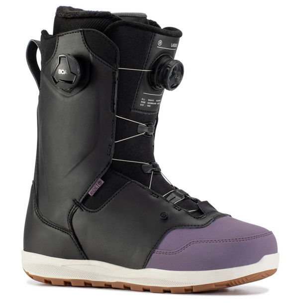 Ride Lasso Snowboard Boots 2021 Purps