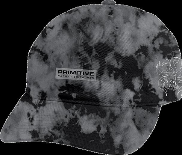 PRIMITIVE NINE TAILS WASHED HAT ADJ-BLACK