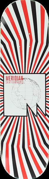 MERIDIAN WORLD BROADCAST SKATE DECK-8.25