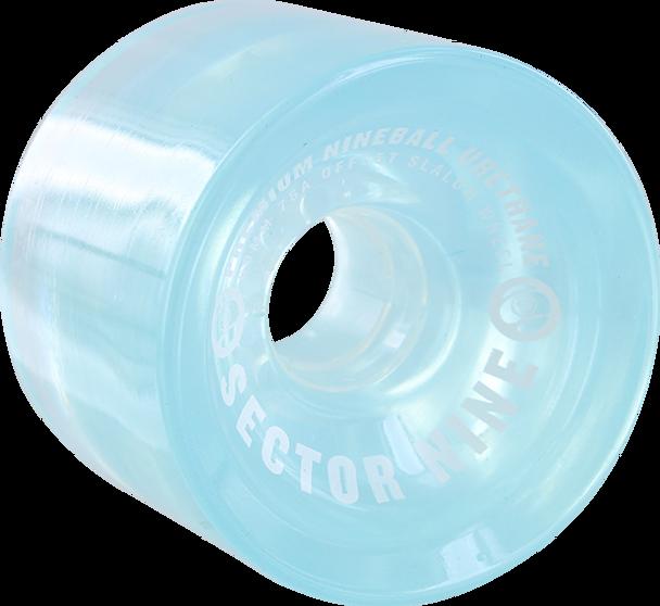 SECTOR 9 NINEBALLS 69mm 78a SLALOM LT.BLUE WHEELS SET