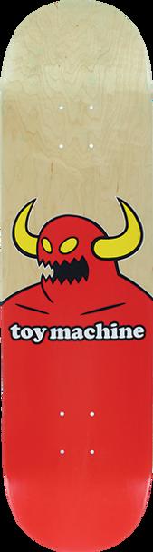 TOY MACHINE MONSTER SKATE DECK-8.0 NATURAL