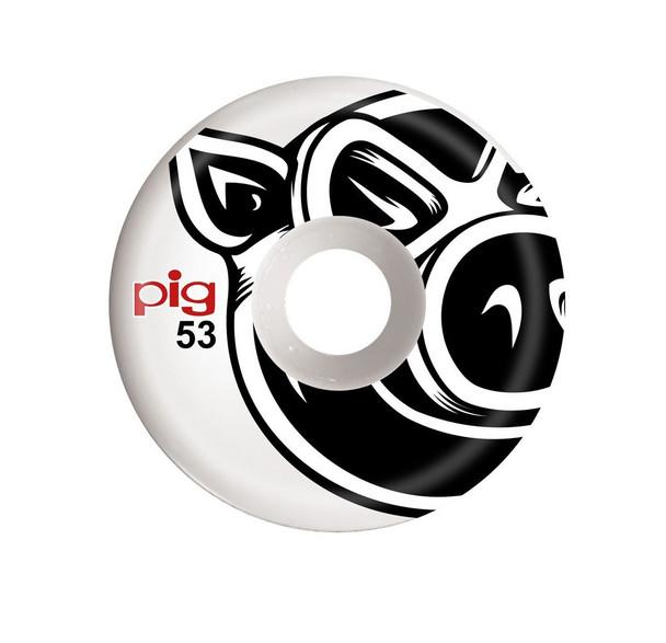 Pig Proline Head Wheels Set White 53mm